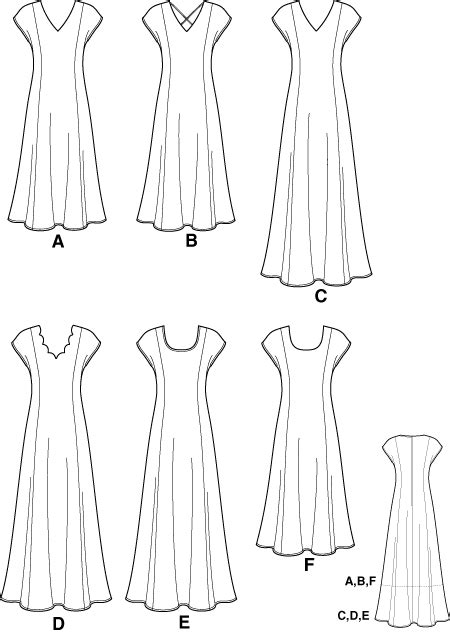 pattern for princess line dress simplicity 7078 princess line dress