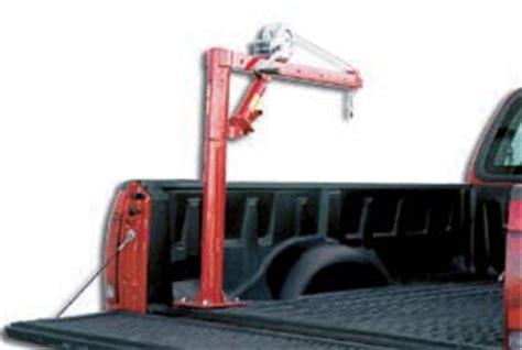 winch operated truck jib crane