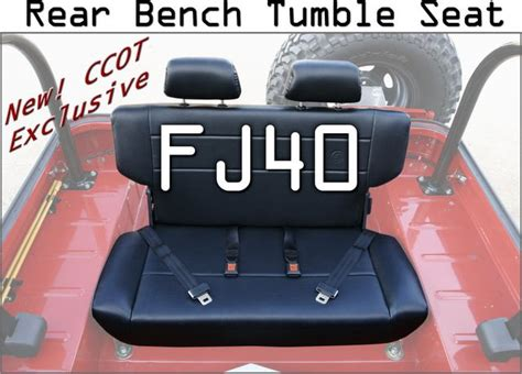 fj40 bench seat fj40 rear bench seat that folds forward when not in use