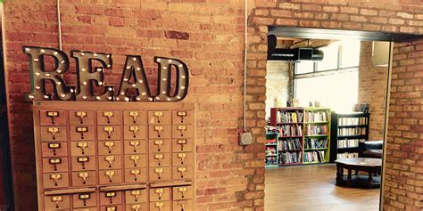 Novel Chicago coolest chicago bookstores marriott traveler