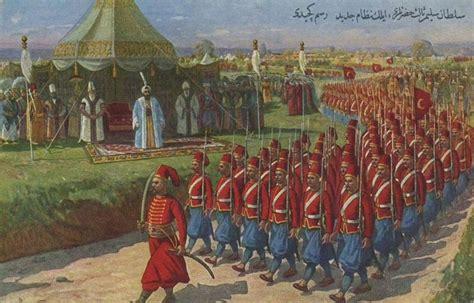 Ottoman Forces Ottoman Empıre Nizam Al Jadid Army Sultan Selim Iii Ottoman Empire