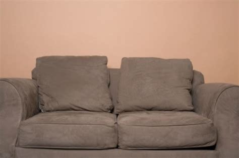 what can i use to clean suede couches keeping couch cushions from sliding thriftyfun