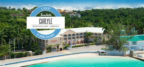 inn sandal carlyle all inclusive jamaican resort vacation packages