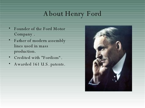 henry ford notes henry ford