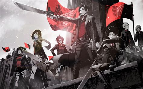 wallpaper anime hd attack on titan attack on titan wallpaper anime wallpapers 27775 chainimage