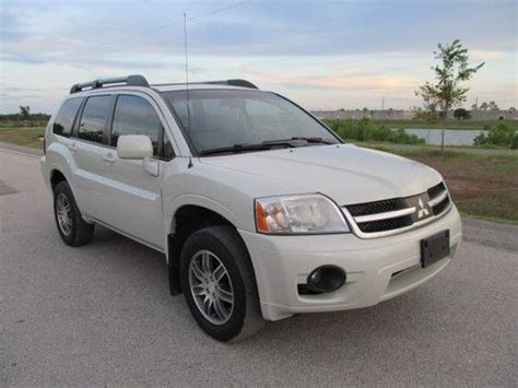 security system 2010 mitsubishi endeavor lane departure warning sell used 2008 mitsubishi endeavor se limited awd loaded in houston texas