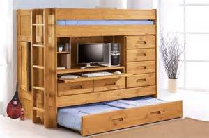 Bunk Beds With Pull Out Bed Seven Pull Out Furniture Designs For A Smart Home Hometone