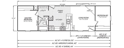 2 bedroom mobile home floor plans endearing 10 2 bedroom mobile home floor plans