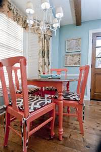 coral colored table ls best coral paint colors