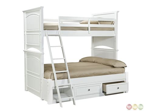 white bunk beds twin over full twin over full bunk bed white madison natural white painted twin over full bunk bed