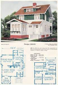 1920s Floor Plans Two Story Eclectic Cottage House Plans Craftsman Style