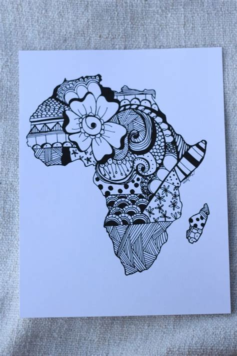 african continent tattoo designs 25 best ideas about on