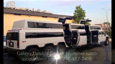 limousine hummer galaxy h2 hummer limo new york double decker hummer limo