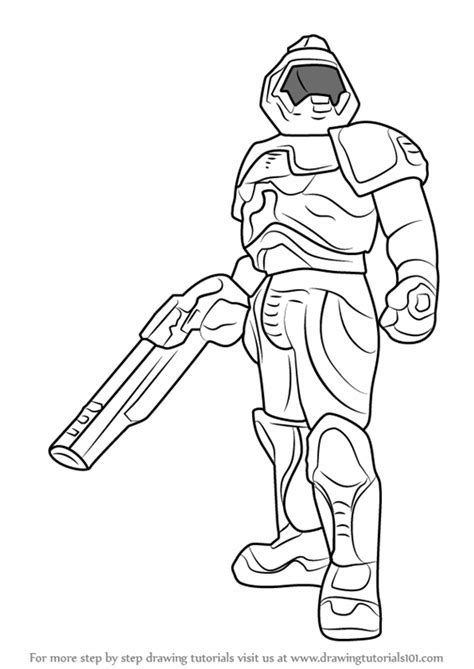 Learn How To Draw Doomguy Doom Step By Drawing