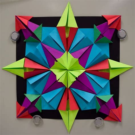 Math Origami Projects - 448 best images about elementary 3 dimensional