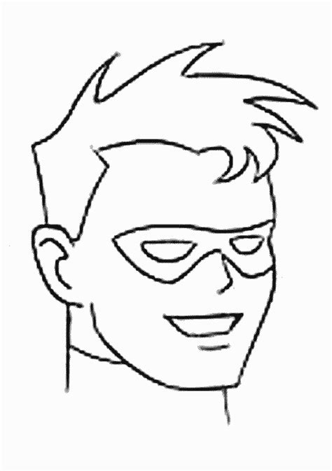 download robin coloring pages superhero coloring pages