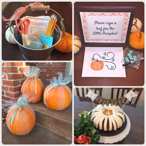 Ideas For Fall Baby Shower by Creative Design Fall Baby Shower Ideas Fall Baby Shower