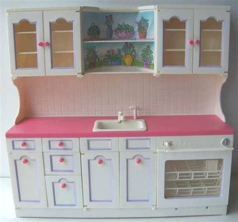 dolls house kitchen furniture details about tyco kitchen littles kitchen sink playset