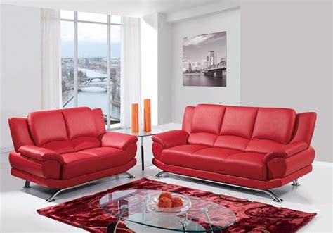 2017 Red Leather Sofas For Charming Warm And Rich Living Living Spaces Leather Sofa