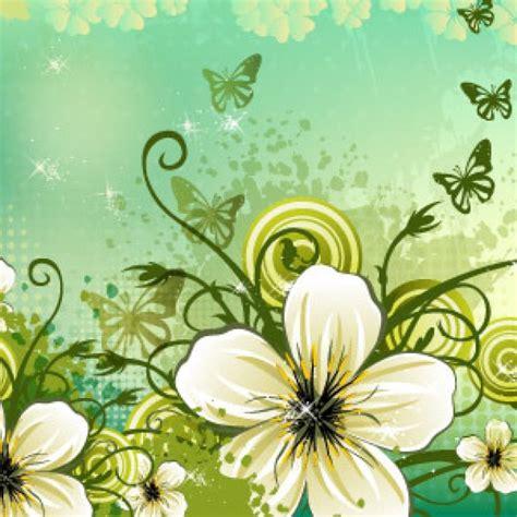 sfondo fiori sfondo fiori con vectoropenstock scaricare vettori gratis