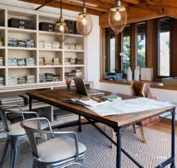 interior home office design industrial home office designs for a simple and professional look