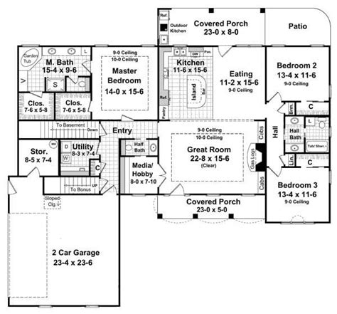 Walkout Basement House Plans One Story by Single Story Walkout Basement House Plans Archives New