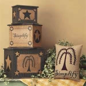 country primitive home decor country primitive home decor on stacking boxes pinterest