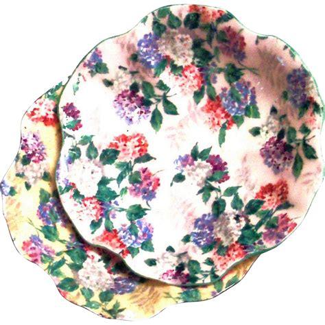 vintage shelley bone china chintz floral design on a