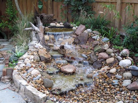 pondless water feature landscape traditional with bolder
