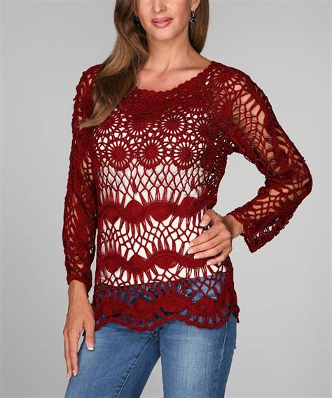 T7463 33 Ananda Top 1566 best hairpin lace images on gallows hairpin lace crochet and crochet batwing tops
