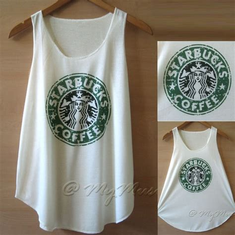 Tangtop Starbuck starbucks tank top 15 00 my style no matter how