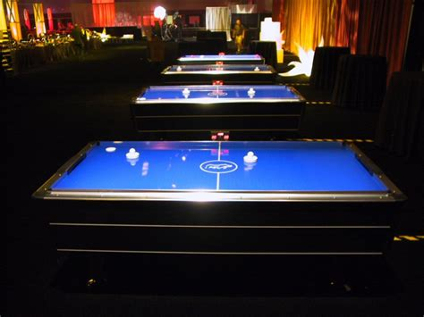 arcade air hockey table air hockey table florida corporate events