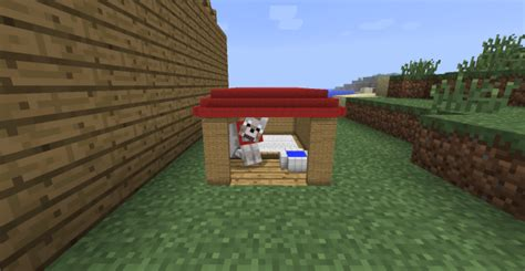 how do you make a dog house need ideas for minecraft ish doghouse build