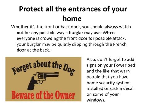 home security tips from a master burglar 28 images