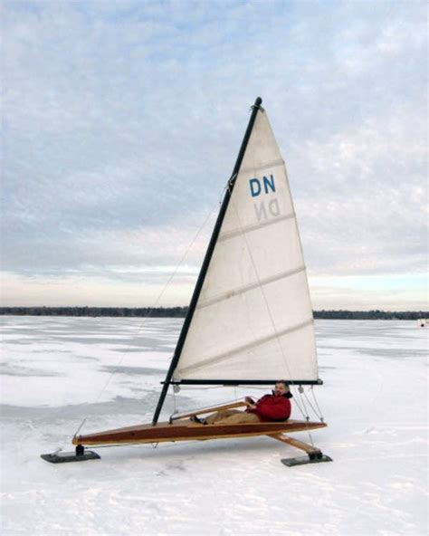 ice boat bemidji ice boat owner rarely can sail but holds out hope