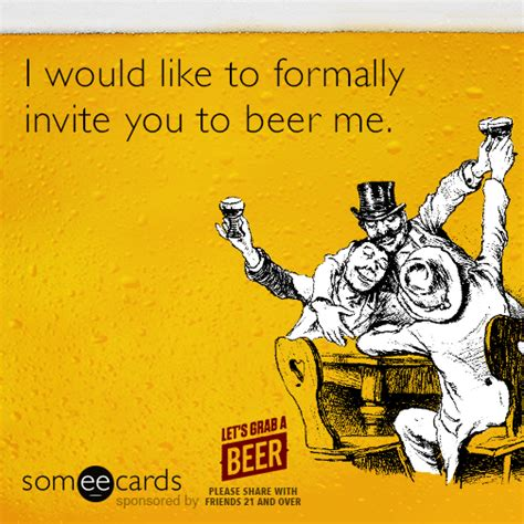beer goggles ecard jokes memes pictures jokideo an offer you can t refuse national beer day pinterest