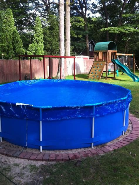 Backyard Above Ground Pool 11 Best Images About Pools Ideas On
