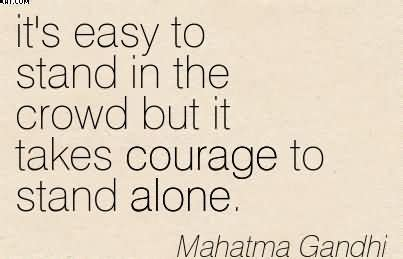 going alone a of courage and independence books book standing alone quotes quotesgram
