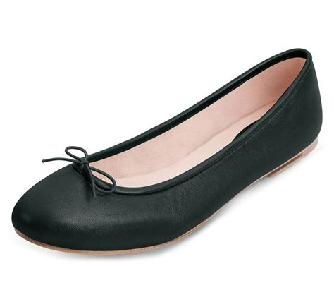 Flatshoes Suede bloch black fonteyn ballet flat shoes mode make up