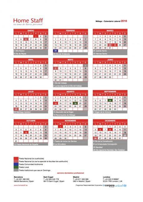 Calendario Escolar 2017 Malaga Calendario Escolar Malaga 2016 2017