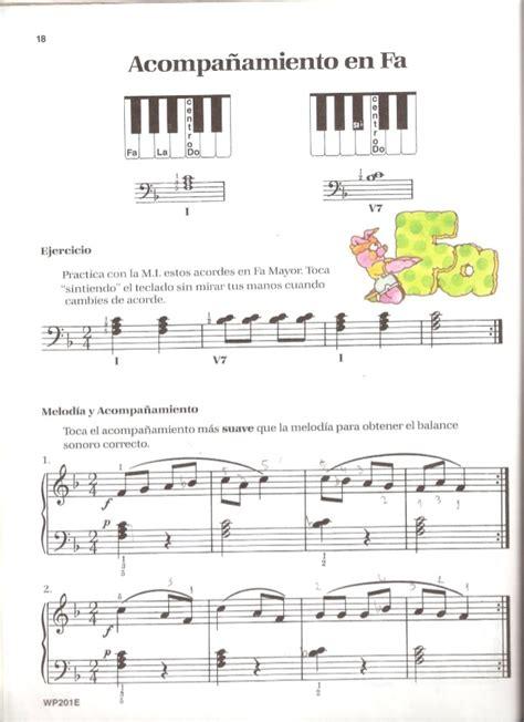piano bsico de bastien piano basico de bastien nivel 1