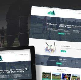 Says Website Relaunch by Home Df Coaching Soccer School And Academy In Yarm