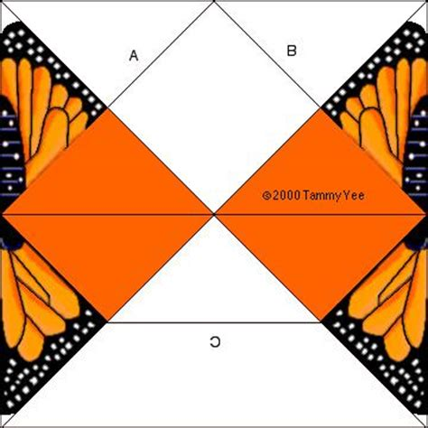 Tammy Yee Origami - monarch butterfly origami