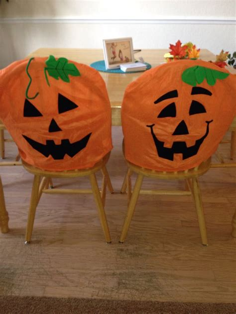Pumpkin Chair Covers by 17 Best Images About Chair Covers On Set Of