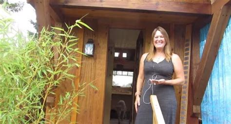four lights houses tiny house talk woman builds 112 sq ft gifford tiny