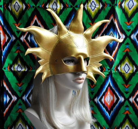 Is This The Return Of The Ra Ra Skirt by Sun Mask Leather God Ra Sun God Costume For By Hawkanddeer