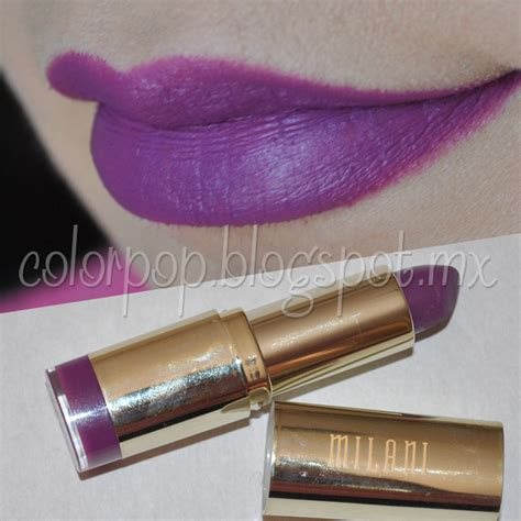 Satuan Purbasari Lipstick Color Matte Az color pop swatches milani color statement matte lipstick