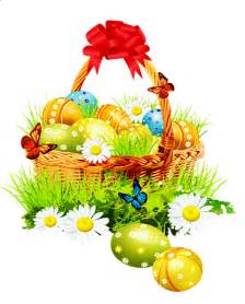 beautiful easter baskets beautiful easter basket with red ribbon