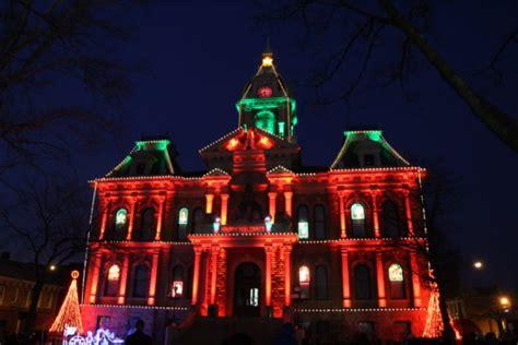 ditmas oark christmaslight displat best lights displays in ohio ohio travels