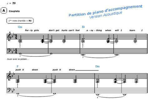 Partition Piano Sia Chandelier Sia Chandelier Piano